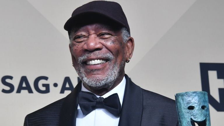 Morgan Freeman (forrás: AFP / Frederic J. Brown)