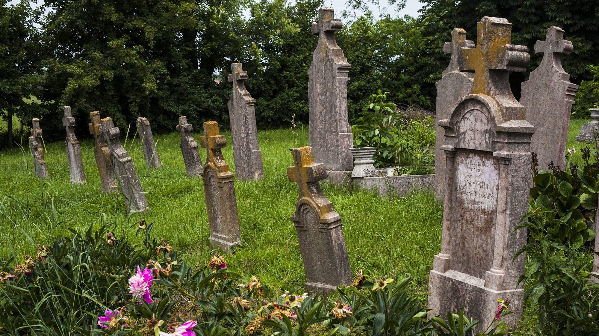 Vértestolna - temető - Fotó: Czvitkovits Judit