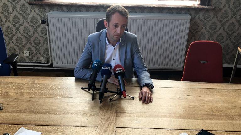 Frederic Bariseau, Mons, Belgium, ügyész (fotó: AFP / Fanny Destombes)