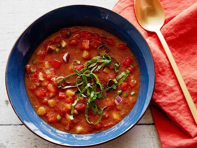 gazpacho leves spanyol recept