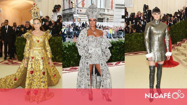 83a2bb580c Miniruhás pápa és eleven ereklyetartó – a 2018-as MET-gála leg-leg-leg  ruhái | nlc