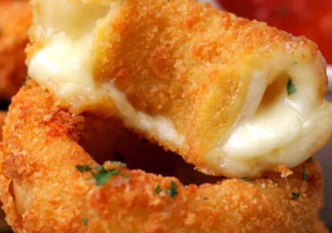mozzarella hagymakarika recept