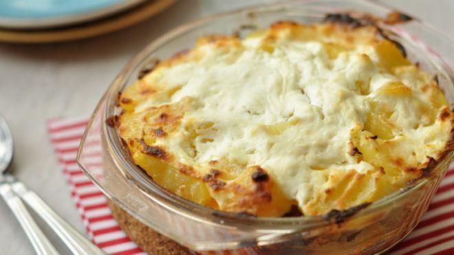 mozzarellas rakott krumpli recept