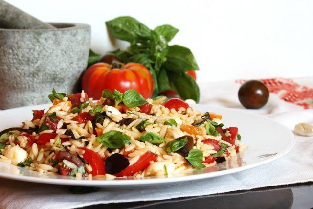 mozzarellas tesztasalata recept