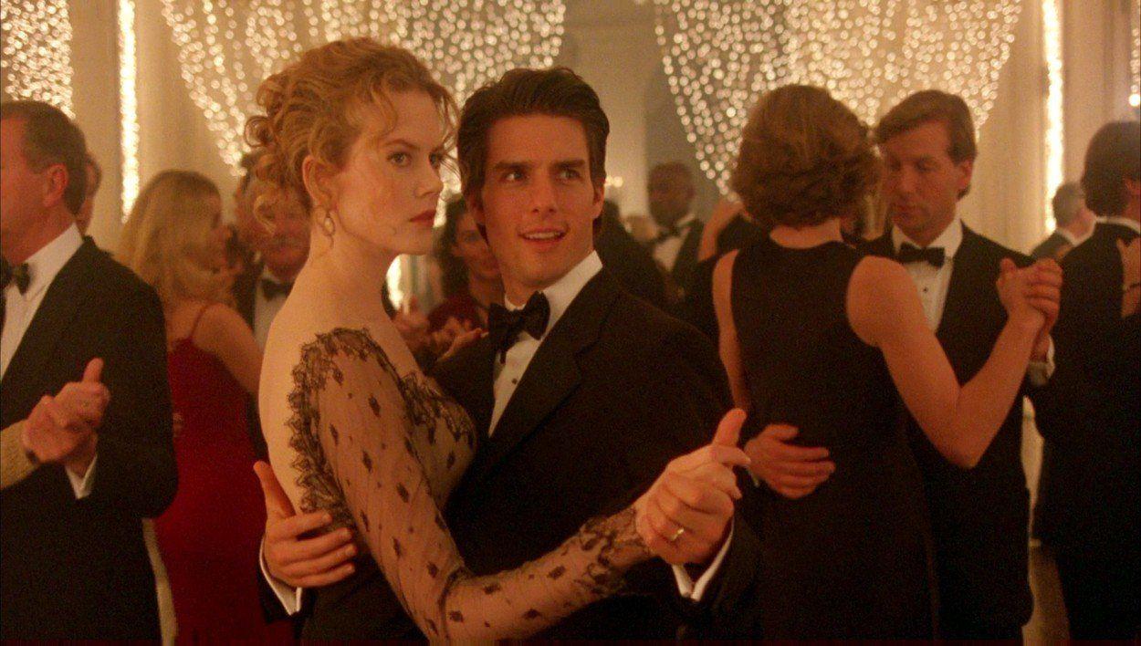 Tágra zárt szemek - Nicole Kidman Tom Cruise - Fotó: Profimedia