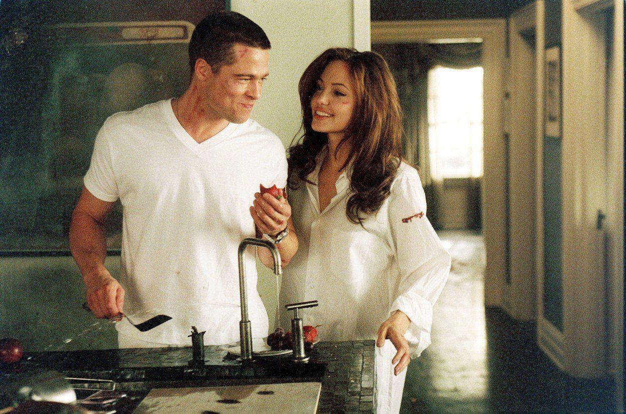 Brad Pitt és Angelina Jolie - Fotó: Profimedia