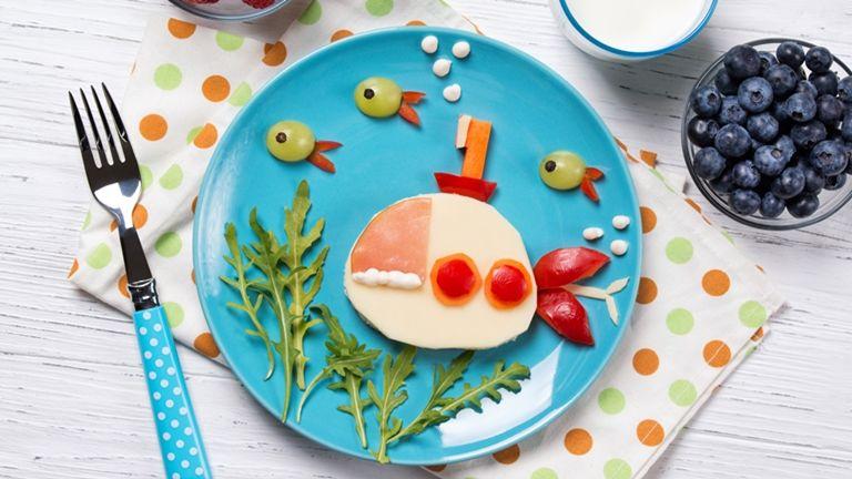 gyereknap szendvics