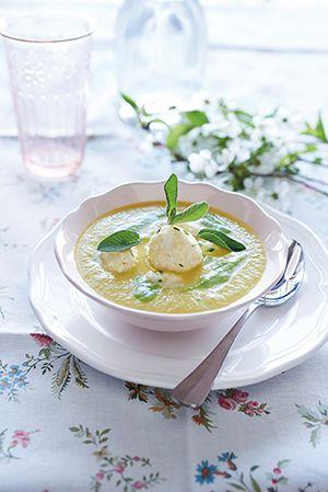 zoldsegkremleves recept ebéd