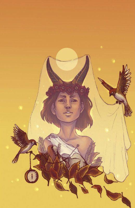 Lenyűgöző horoszkóp rajzok, így néznének ki a csillagjegyek istennőként! 6