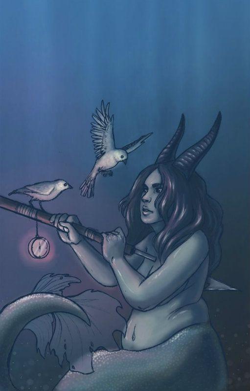 Lenyűgöző horoszkóp rajzok, így néznének ki a csillagjegyek istennőként! 10