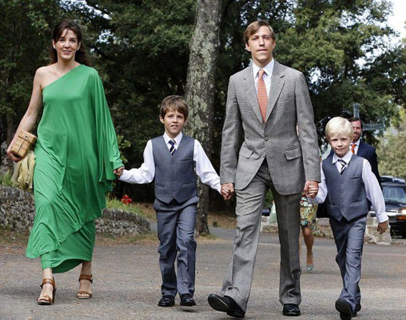 luxemburgi lajos herceg tessy hercegnő királyi család válás