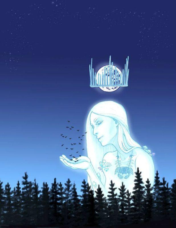 Lenyűgöző horoszkóp rajzok, így néznének ki a csillagjegyek istennőként! 4