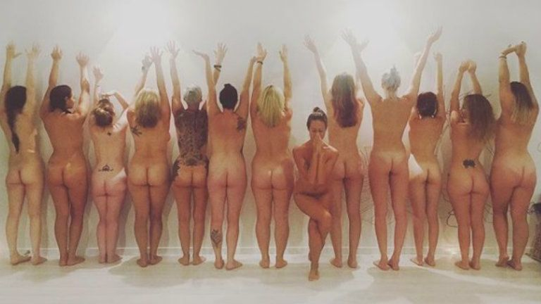 Tonight I will be hosting my first FEMPOWERMENT workshop in Brisbane A beautiful womens only naked yoga workshop.