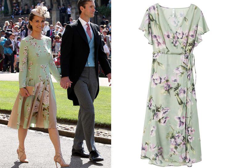 b80a643017 Pippa Middleton és férje Meghan Markle és Harry herceg esküvőjén (Fotó:  Getty Images) / Ruha: MANGO