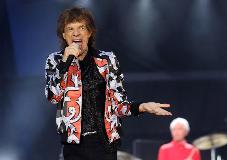 Szinte karnyújtásnyira voltunk Mick Jaggertől (Fotó: Getty Images)