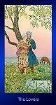tarot kártya jóslás A Szeretők nagyarkánum