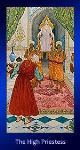tarot kártya jóslás A Főpapnő nagyarkánum