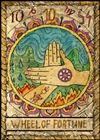 tarot jóslat A Szerencsekerék kártya