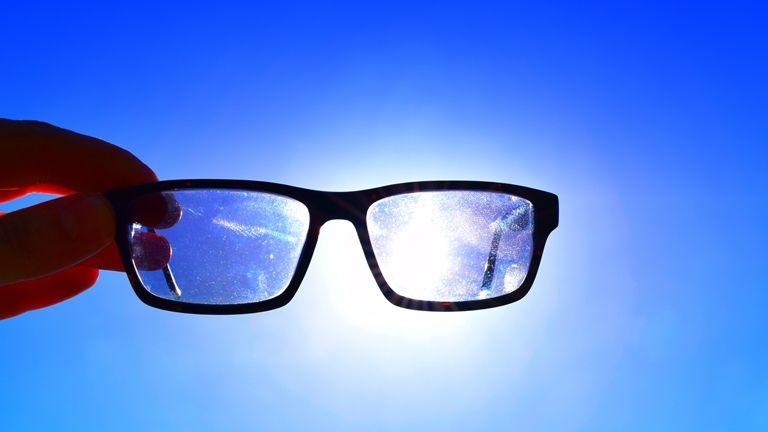 UV védelem szemüveg
