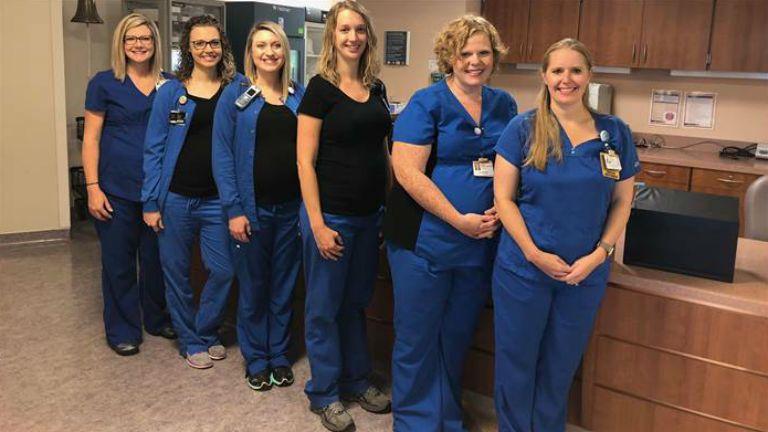 ápolónők terhesség egyszerre