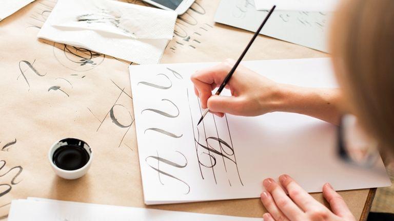 kalligráfia művészet