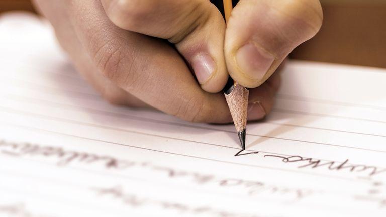 írás szépírás