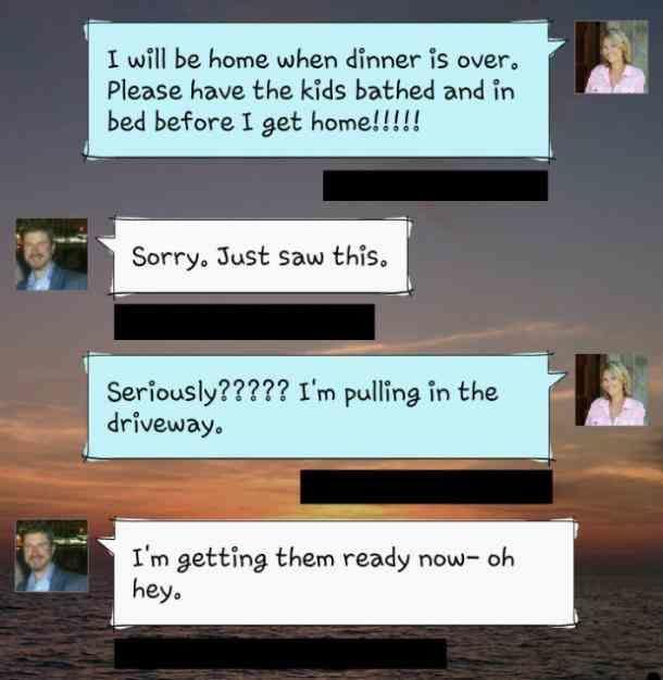 férj házasság sms
