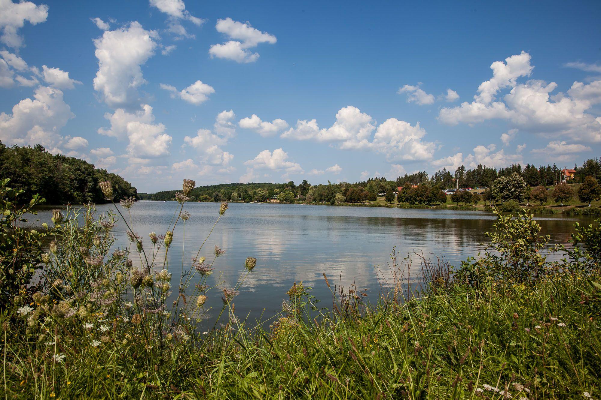 Zalalövő, Borostyán-tó - Fotó: Czvitkovits Judit