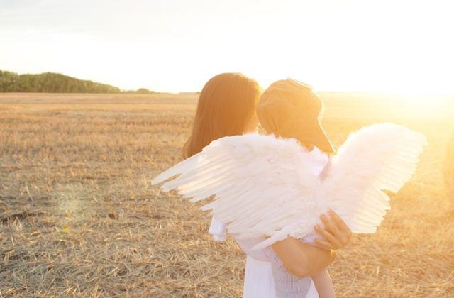 angyalok jelek spirituális üzenet