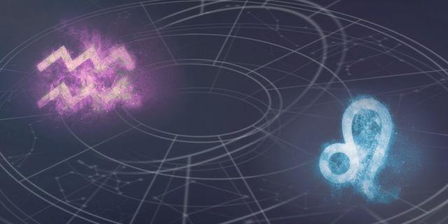 vízöntő oroszlán csillagjegyek horoszkóp