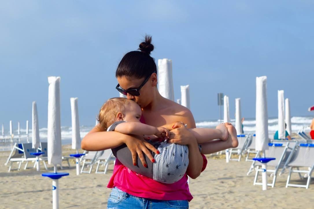Lukasz Rebeka és kisfia - Fotó: Facebook