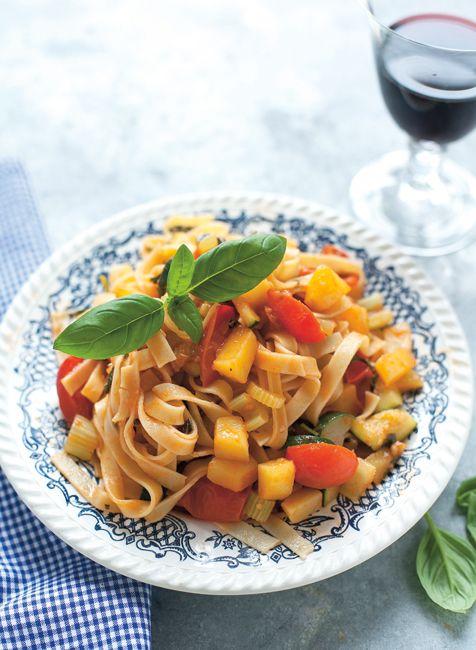 olasz tészta, nyár, hétvégi menü