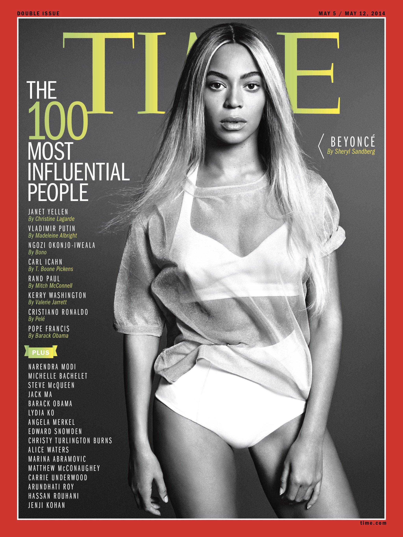 beyoncé, tme magazin, címlap