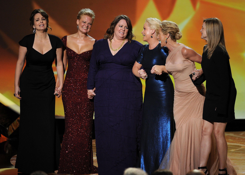 emmy gala, 2011, színésznők