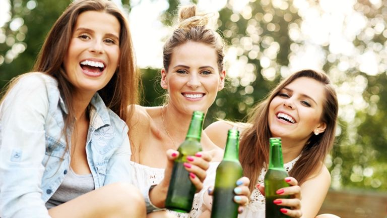 nők és a sör