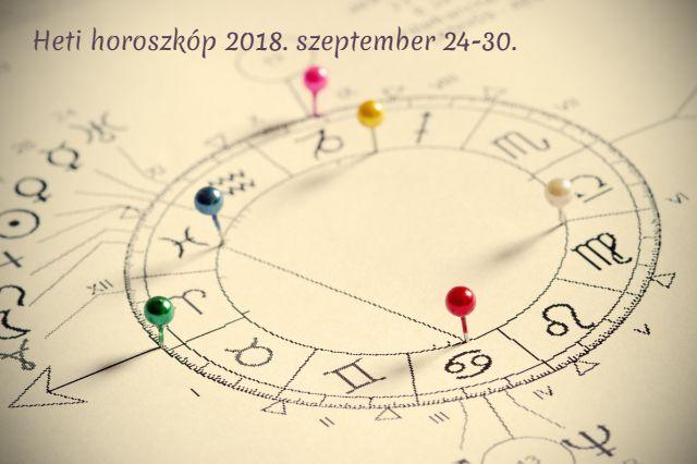 heti horoszkóp 2018.szeptember 24-30.
