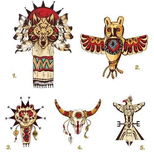indián totemállatok személyiségteszt