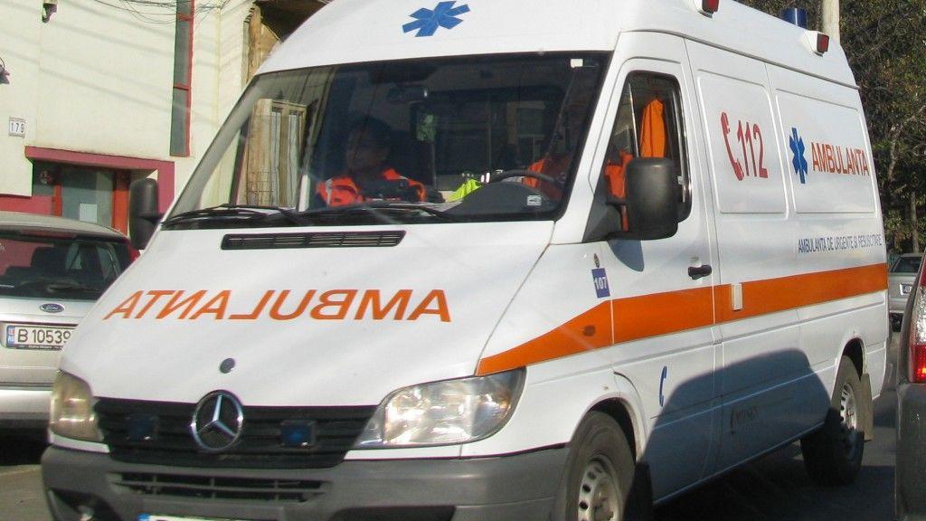 mentőautó románia