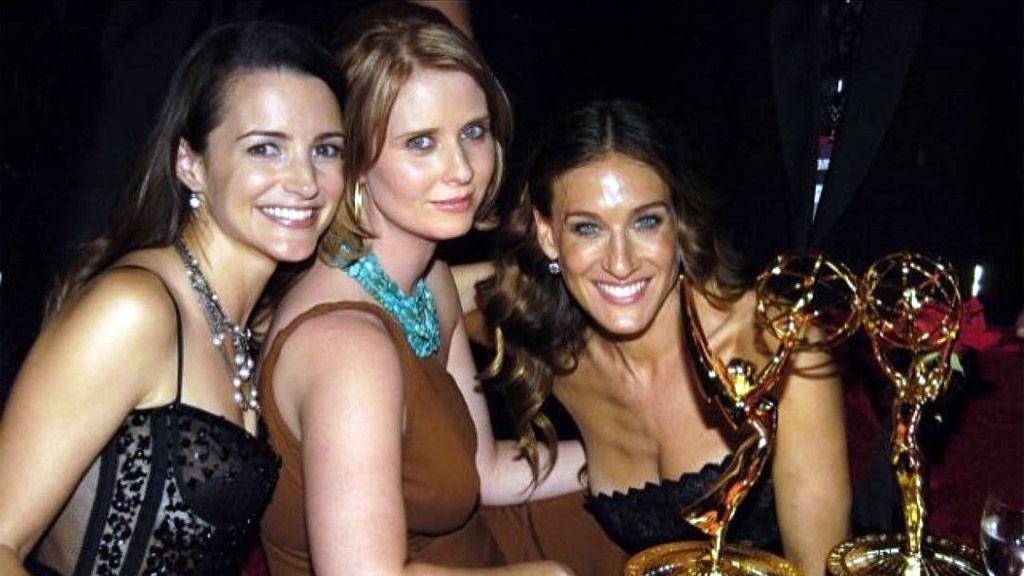 Hárman a Szex és New York négy hősnője közül (Forrás: Instagram)