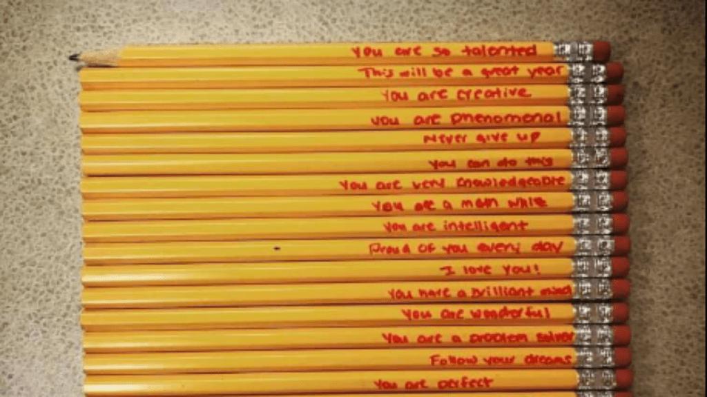 ceruza anya üzenet szeretet megható