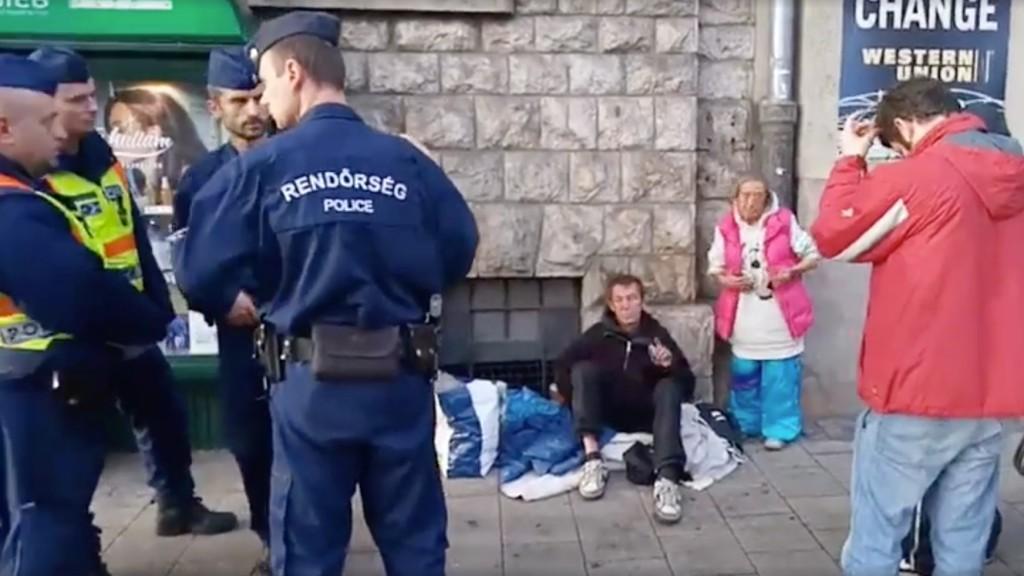 Hajléktalan szex videó