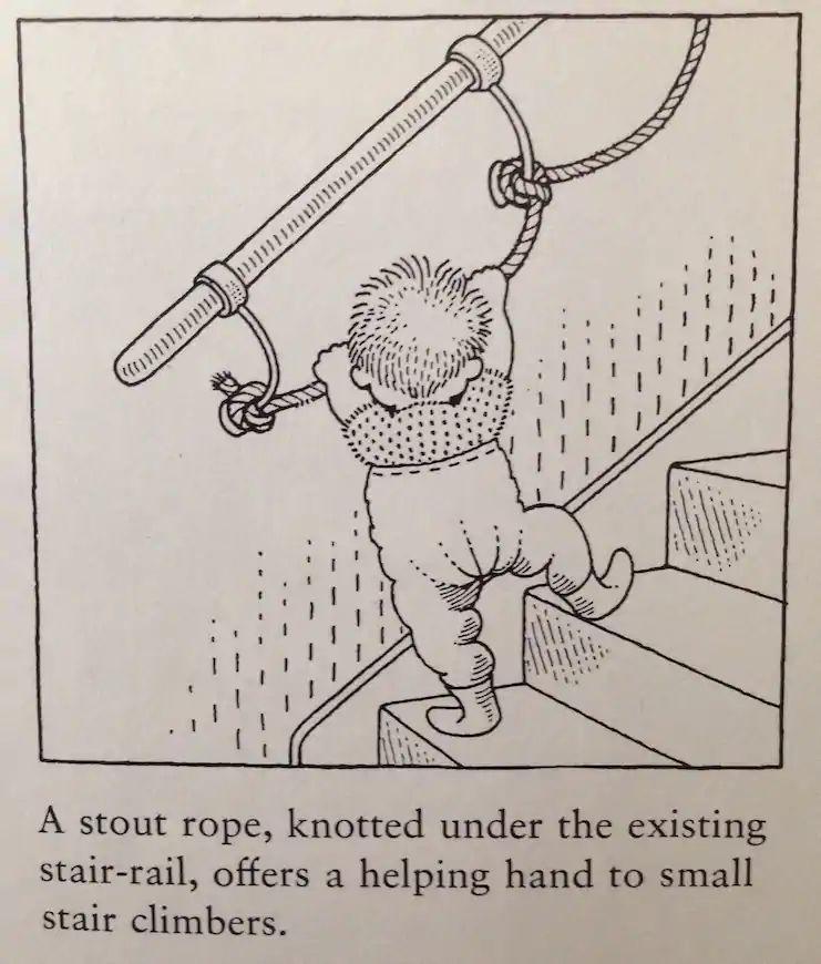 gyerek biztonság trükk