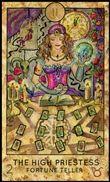 tarot kártya jóslás Főpapnő