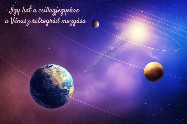 Vénusz retrográd 2018. október 5. csillagjegyek horoszkóp