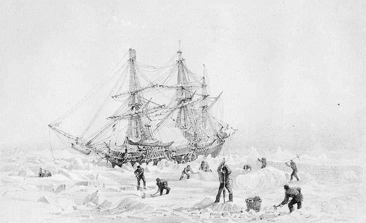 Sir george Back HMS Terror Franklin-expedíció északnyugati átjáró felfedezés hajó sarkvidék