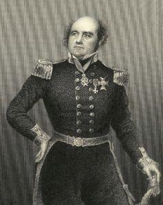 Sir John Franklin kapitány felfedező hajózás Franklin-expedíció északnyugati átjáró HMS Terror HMS Erebus