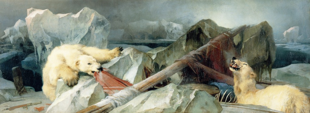 Edwin Henry Landseer Ember tervez, Isten végez festmény Franklin-expedíció Terror Erebus