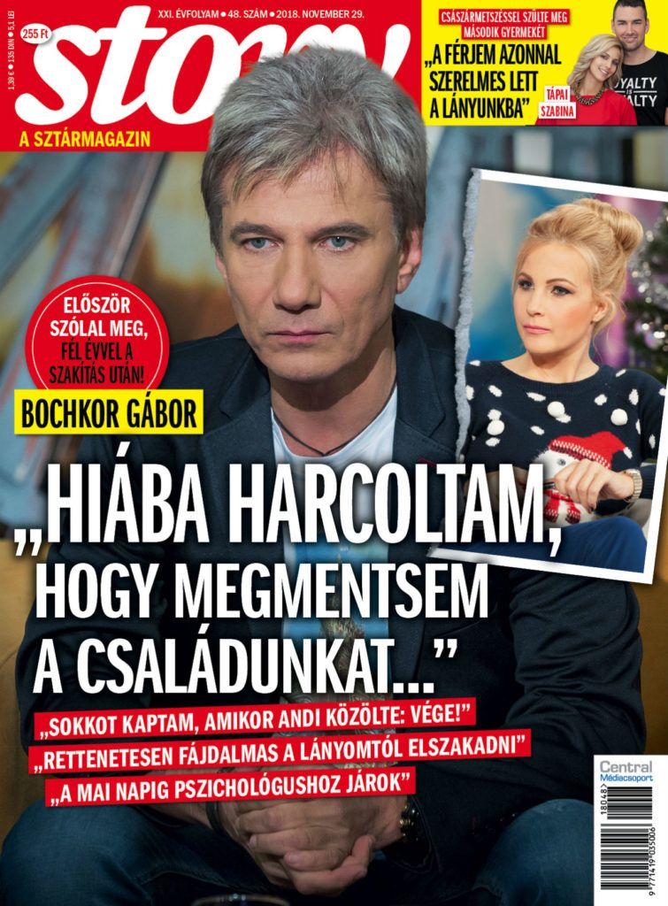 Gabor dijo a la revista Bochkur después de que Andrea Varconi también habló sobre su ruptura.