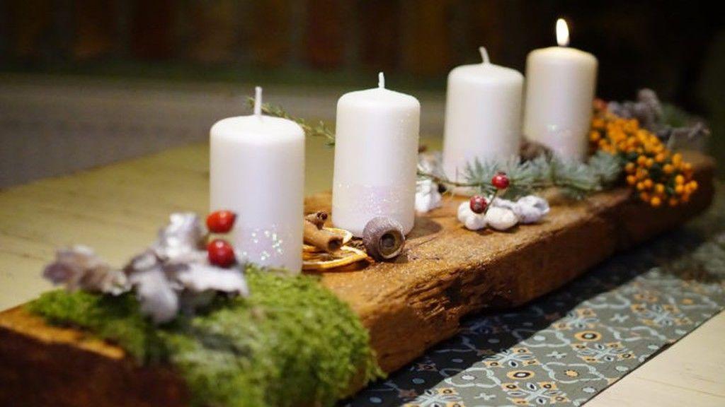 advent, koszoru, dekor