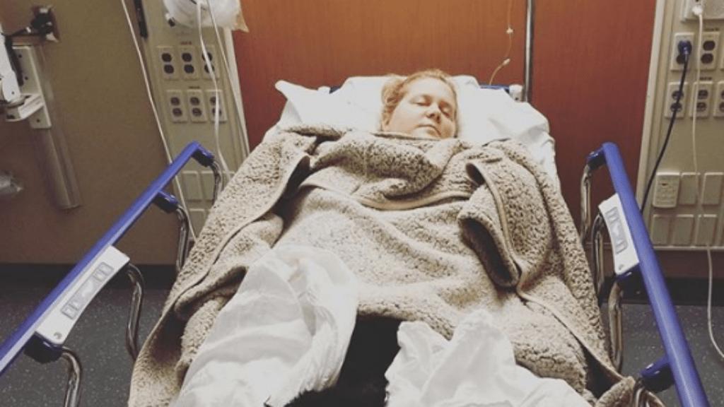amy schumer kórház terhesség rosszullét